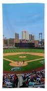 D24w-299 Huntington Park Photo Beach Towel