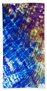 Hydroquinone Microcrystals Color Abstract Art Beach Towel