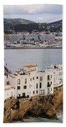 Ibiza Town Beach Towel