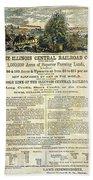Illinois Railroad Company Beach Sheet