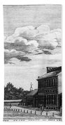 Independence Hall, 1778 Beach Towel