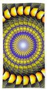 Infinity Gateway Nine Kaleidoscope Beach Towel