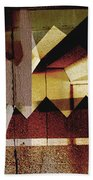 Interstate 10- Exit 259a- 29th St / Silverlake Rd Underpass- Rectangle Remix Beach Towel