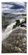 Iquassu Falls - South America Beach Towel
