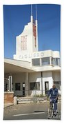 Italian Colonial Architecture In Asmara Eritrea Beach Towel