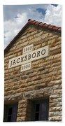 Jacksboro Texas Beach Towel