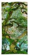 Japanese Maple Tree Beach Towel