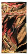 Jerusalem The Emanation Of The Giant Albion Beach Towel by William Blake