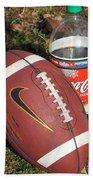 Jim Beam Coke And Football Beach Towel