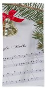 Jingle Bells Beach Towel