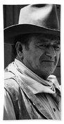 John Wayne Rio Lobo Old Tucson Arizona 1970 Beach Towel