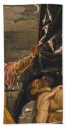 Judith And Holofernes Beach Towel