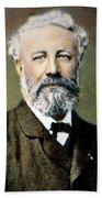 Jules Verne (1828-1905) Beach Towel