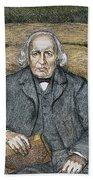 Karl Theodor Weierstrass (1815-1897) Beach Towel