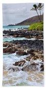 Keanae Lava Rock Beach Towel