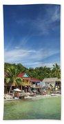Koh Rong Island Beach Bars In Cambodia Beach Towel