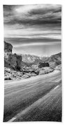 Kyle Canyon Road Beach Towel by Howard Salmon