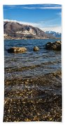 Lago Di Pusiano Beach Towel