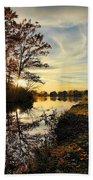 Lake Wausau Sunset Beach Towel