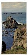 Seascape Lands End Beach Towel