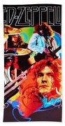 Led Zeppelin Art Beach Towel