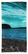 Liberty Bay Seattle Wa Beach Towel
