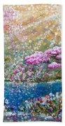 Light Of Spring Beach Towel