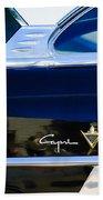 Lincoln Capri Emblem Beach Towel