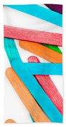 Lollipop Sticks Beach Towel