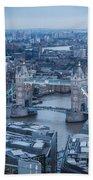 London Skyline Beach Towel