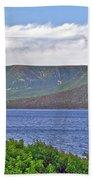 Long Range Mountains In Western Nl Beach Towel