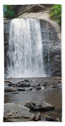Looking Glass Falls North Carolina Beach Towel