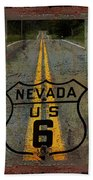 Lost Highway Beach Towel