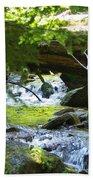 Lower Granite Falls 1 Beach Towel