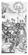 Luther Anniversary, 1617 Beach Towel