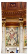 Murals In The Capitol - Madison Beach Towel
