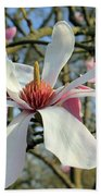 Magnolia Flower Beach Towel