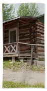 Mamma Cabin At The Holzwarth Historic Site Beach Towel