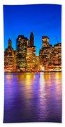 Manhattan - New York City Beach Towel