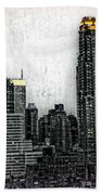 Manhattan View Beach Towel
