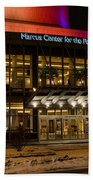 Marcus Center For The Performing Arts  Beach Towel