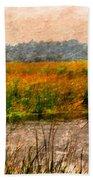 Marsh Land Beach Towel