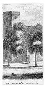Massachusetts Salem, 1851 Beach Towel