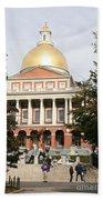 Massachusetts State House - Boston  Beach Towel