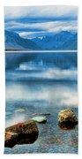 Mcdonald Lake Beach Towel