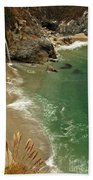 Mcway Falls Beach Towel by Adam Jewell