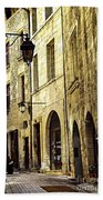Medieval Street In France Beach Towel