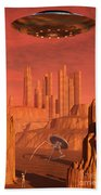 Members Of The Planets Advanced Beach Towel