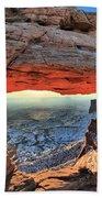 Mesa Arch Frame Beach Towel