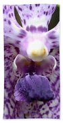 Micro Orchid Beach Towel